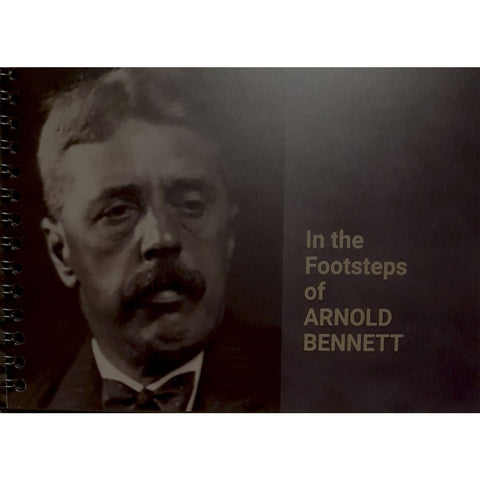 Barewall Books Book In The Footsteps of Arnold Bennett by David Harding