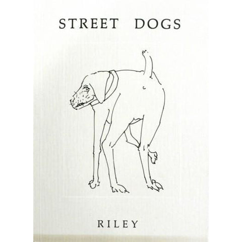 Barewall Books Book Signed Street Dogs by Harold Riley