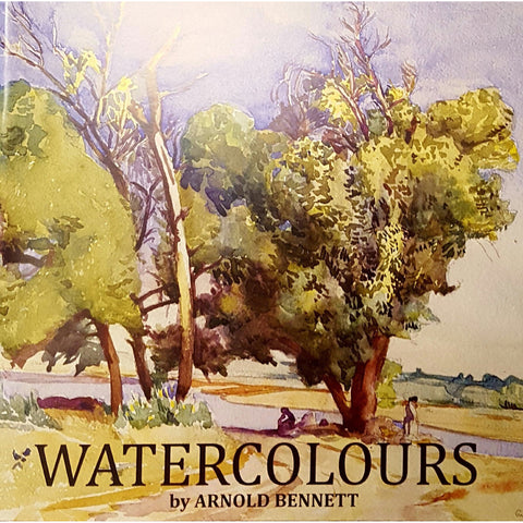 Barewall Books Book WATERCOLOURS Arnold Bennett - Art Catalogue 2017