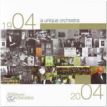 A Unique Orchestra: The North Staffs Symphony Orchestra 1904 to 2004 by Kathy Niblett | Books by Barewall Books | Barewall Art Gallery