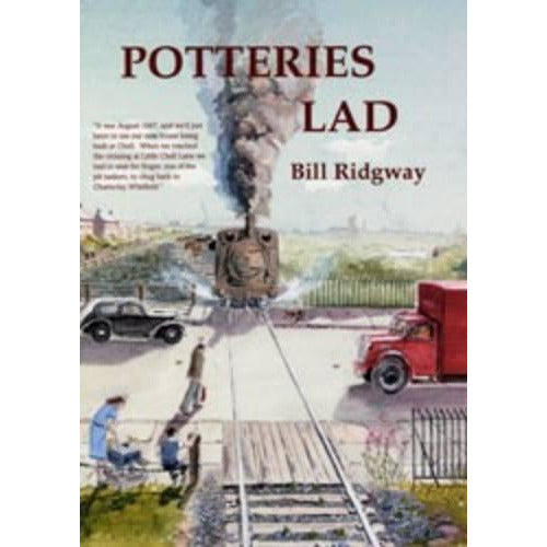 Barewall Books Books Potteries Lad by Bill Ridgway