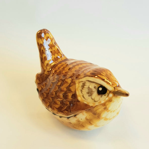 Carole Glover Ceramics CG30 Wren Slipware Birds by Carole Glover