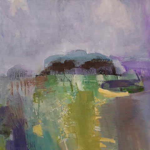 Claire Vardy-White Original Art Peckforton Hills by Claire Vardy-White