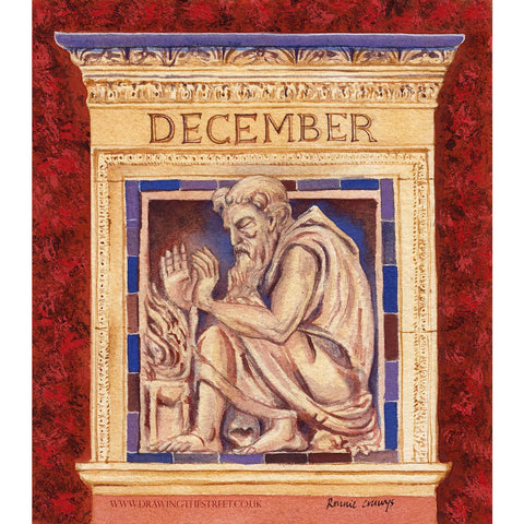 The Month of December - The Wedgwood Institute by Ronnie Cruwys