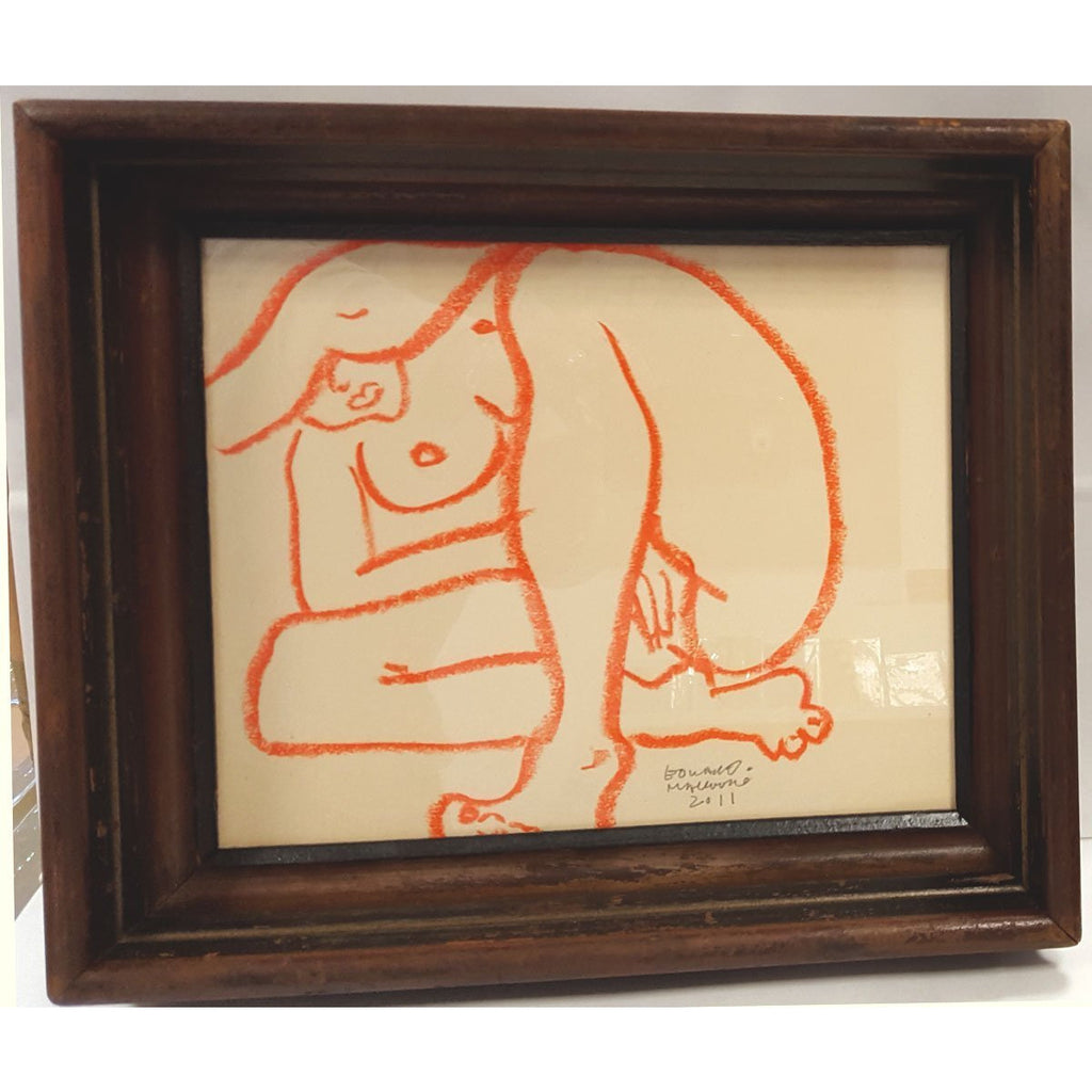 Edward Mackenzie Original Art Recycled Nude I by Edward MacKenzie