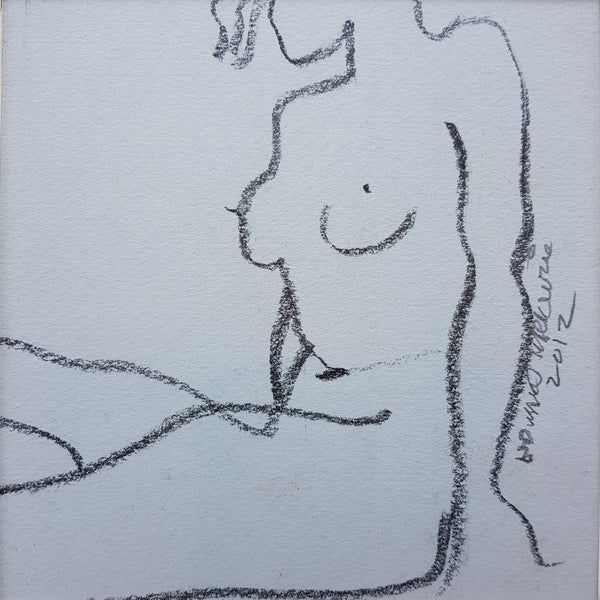 Edward Mackenzie Original Art Recycled Nude VI by Edward MacKenzie