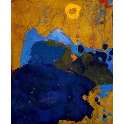 EN2 - Small Untitled Abstract Acrylic II by Enos Lovatt | Original Art by Enos Lovatt | Barewall Art Gallery
