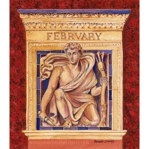 The Month of February - The Wedgwood Institute by Ronnie Cruwys