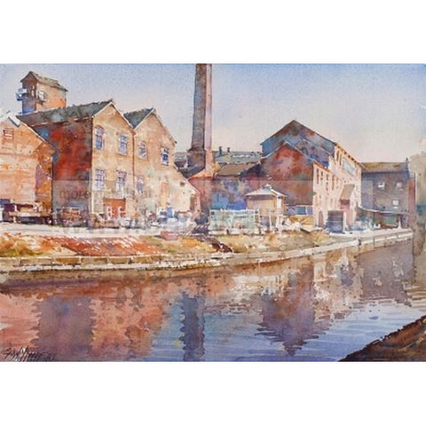 Geoffrey Wynne RI Original Art Middleport Pottery by Geoffrey Wynne RI