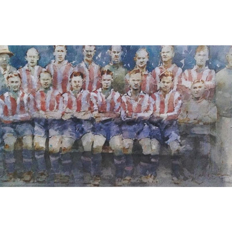 Geoffrey Wynne RI Original Art Stoke City FC 1935 by Geoffrey Wynne RI
