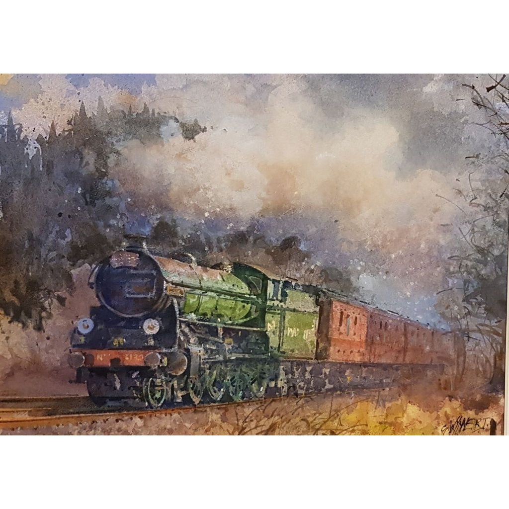 Geoffrey Wynne RI Original Art The Cathedral Express by Geoffrey Wynne RI
