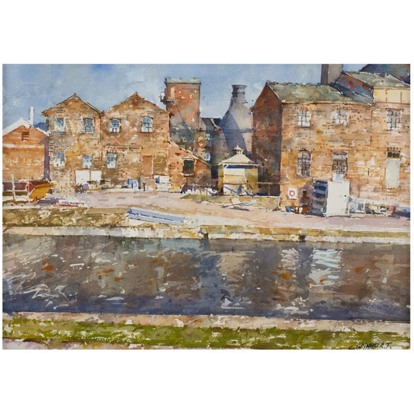 Geoffrey Wynne RI Print The Potteries Canals and Railway Print Collection by Geoffrey Wynne RI