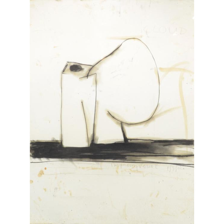 Gordon Baldwin (OBE) Original Cloud: Imagining Vessel I (2002) - drawing by Gordon Baldwin