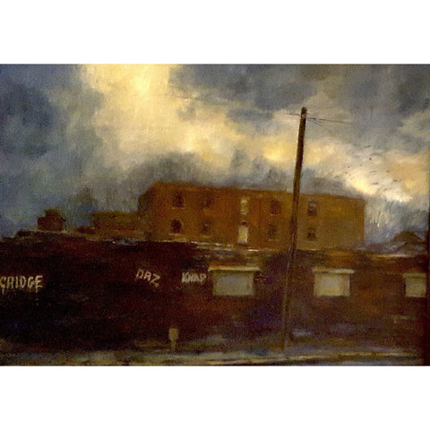 Helen Tarr Original Art The Old Mill at Middleport by Helen Tarr