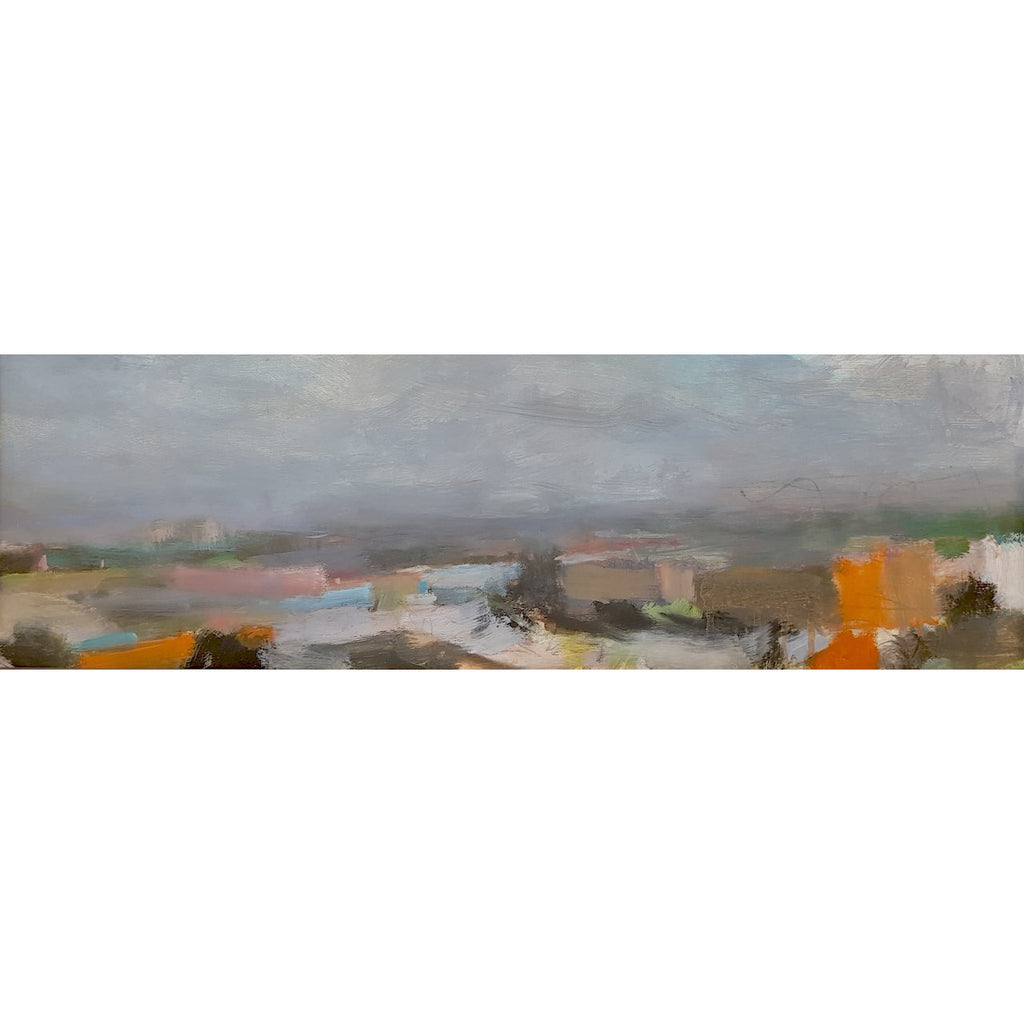 Ian Mood Original Art Etruria Panorama 2018 by Ian Mood