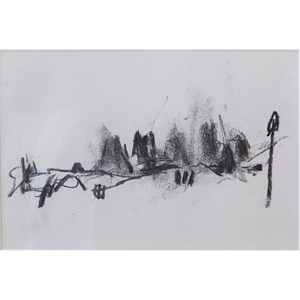 Ian Mood Original Art IM003P Longton - pencil on paper by Ian Mood