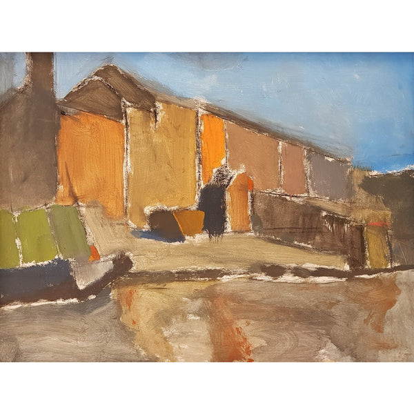 Ian Mood Original Art Middleport Pottery 2018 by Ian Mood