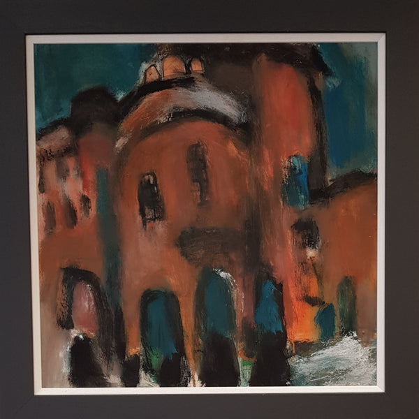 Ian Mood Original Art Salford Lads Club I by Ian Mood