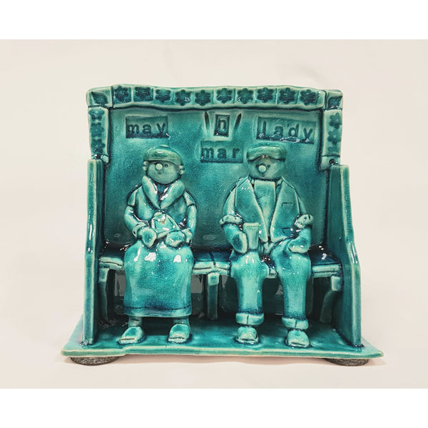 Ian Tinsley Ceramics May n Mar Lady 2019 by Ian Tinsley Pottery