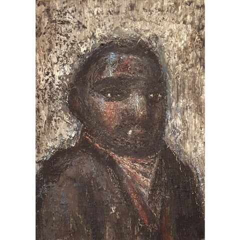 Biddulph Miner 1957 Oil by Jack Simcock | Original Art by Jack Simcock | Barewall Art Gallery