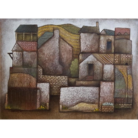 Farm 2016 by Jiri Borsky | Original Art by Jiri Borsky | Barewall Art Gallery