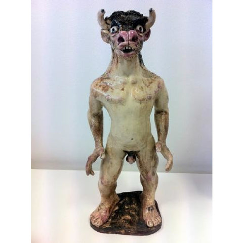 John Shelton Ceramic Minotaur by John Shelton