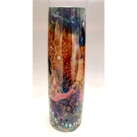 Fairland Candlestick by Kate Collins | Ceramics by Kate Collins | Barewall Art Gallery