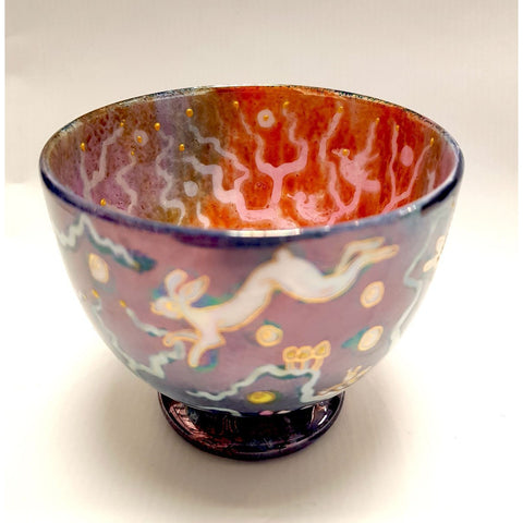 Kate Collins Ceramics KC10 Small Fairyland Bowl by Kate Collins