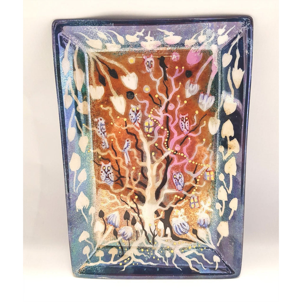 Kate Collins Ceramics KC11 Fairyland Flat Tray by Kate Collins