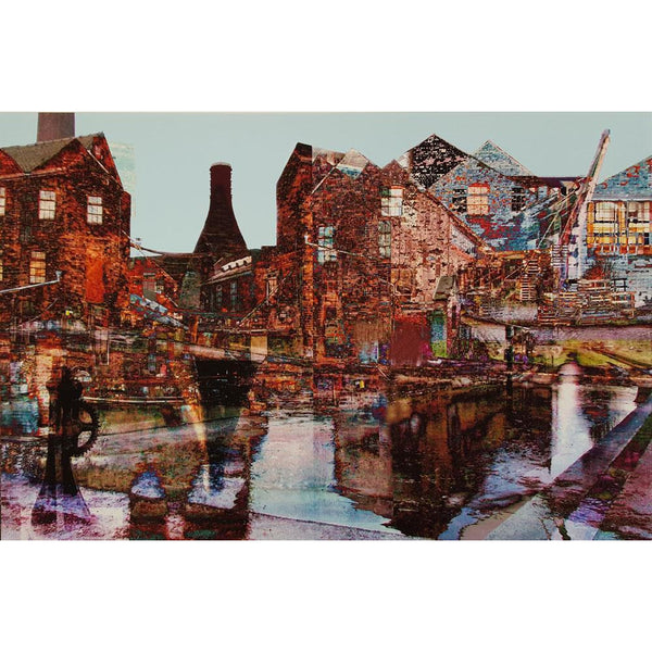 Micheal Pritchard Print PH098E - Middleport by Micheal Pritchard Micheal Pritchard Potteries Print Collection