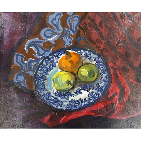 Muriel Pemberton Original Art Still Life Oil by Muriel Pemberton