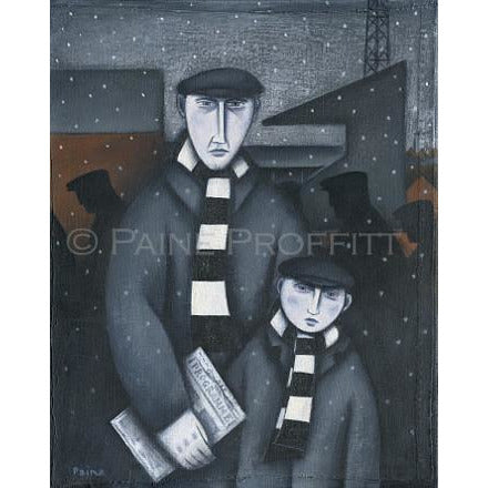 Port Vale Every Saturday Limited Edition Football Print by Paine Proffitt