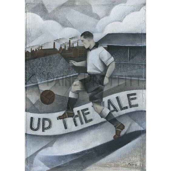 Paine Proffitt Print Port Vale Up the Vale Limited Edition Football Print by Paine Proffitt