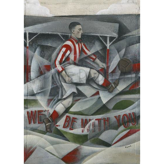 Paine Proffitt Print Stoke City We Will Be With You Limited Edition Football Print by Paine Proffitt