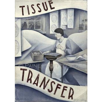 Paine Proffitt Print Tissue Transfer Print by Paine Proffitt