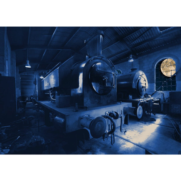 Photography print Moon over Foxfield Railway Moon over the Potteries Collection by Richard Howle