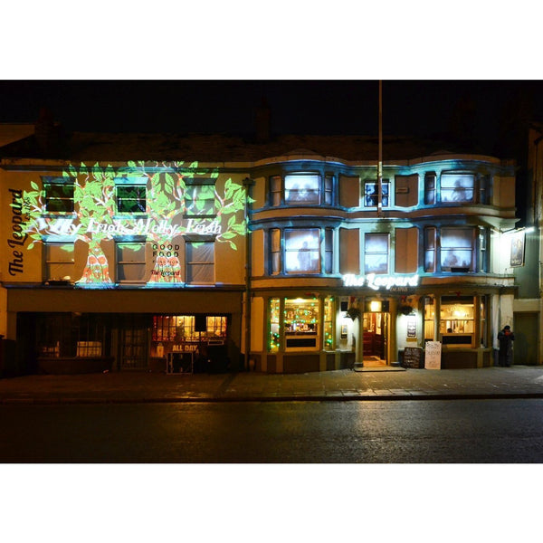 Photography print Light Night SOT: The Leopard Pub Stoke on Trent Light Night Print Collection by Richard Howle