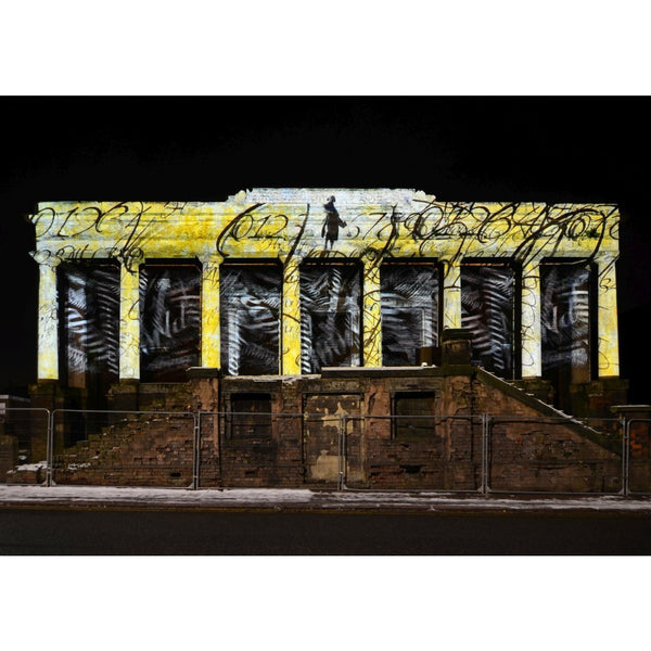 Photography print Light Night SOT: The Old Sunday School Stoke on Trent Light Night Print Collection by Richard Howle