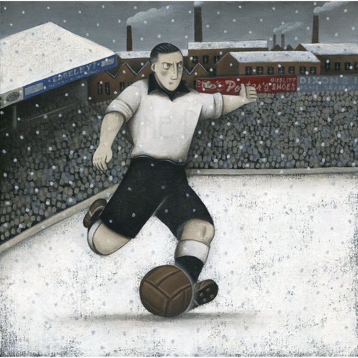 Port Vale Gift - A Vale Winter Ltd Edition Signed Football Print | BWSportsArt