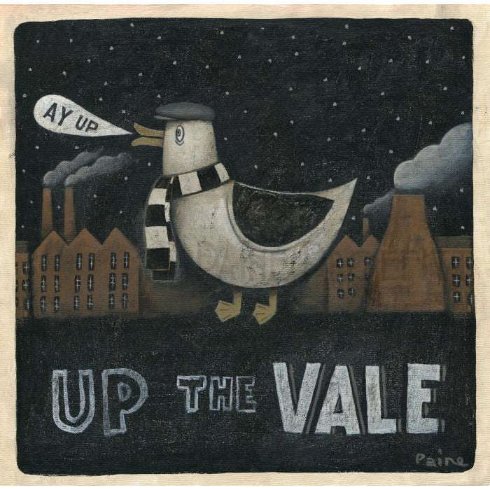 Port Vale Gift - Port Vale Ay Up Duck Ltd Edition Signed Football Print | BWSportsArt