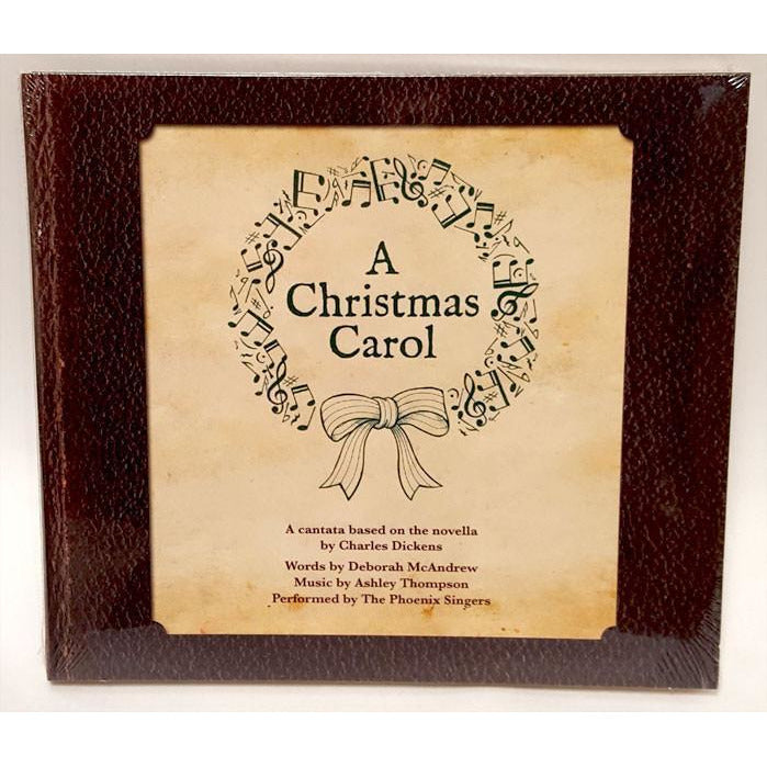 A Christmas Carol CD by Debbie McAndrew and Ashley Thompson | Gift by Potteries Gifts | Barewall Art Gallery