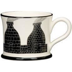 Potteries Gifts Gift Bottle Kilns Mug by Moorland Pottery