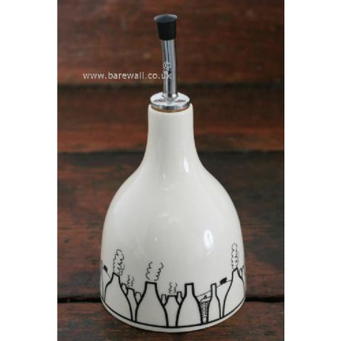 Bottle Oven Shaped Oil Pourer | Gift by Potteries Gifts | Barewall Art Gallery
