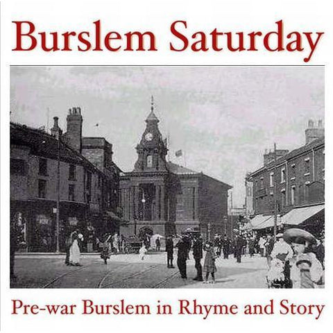 Burslem Saturday Audio CD | Gift by Potteries Gifts | Barewall Art Gallery