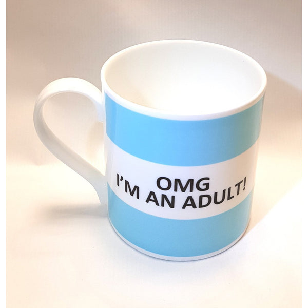 Classic Saying Fine Bone China Mug by The Pot Bank | Gift by Potteries Gifts | Barewall Art Gallery