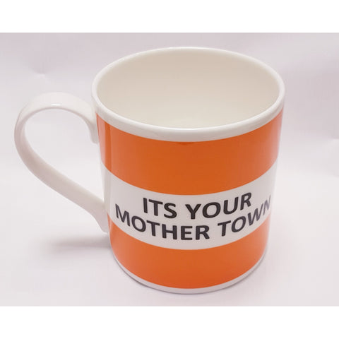 Potteries Gifts Gift Its Your Mother Town Fine Bone China Mug by The Pot Bank