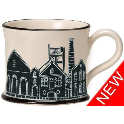 Potteries Gifts Gift Miners Mug by Moorland Pottery