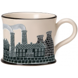 Potteries Gifts Gift Pits N Pots Mug by Moorland Pottery