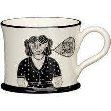 Potteries Gifts Gift Stokie Bird Mug by Moorland Pottery