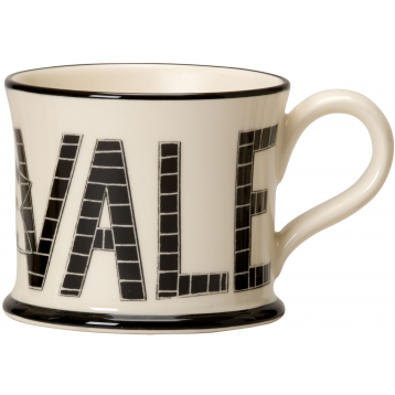 Potteries Gifts Gift Up The Vale Boslem Mug by Moorland Pottery